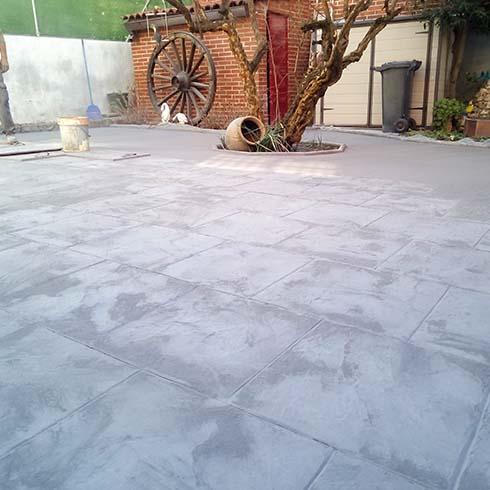 Precios hormigon impreso pavimentos hormigon with precios hormigon impreso pavimento y hormign - Suelo hormigon pulido precio ...